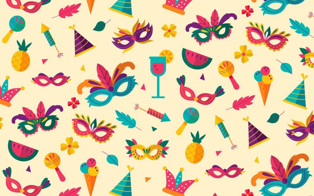 Öffnungszeiten und Unterricht über Karneval